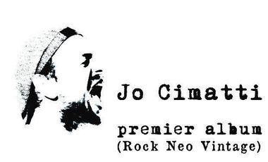 Project visual Le 1er album éponyme de Jo CIMATTI