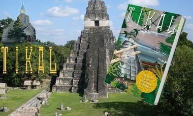 Project visual Tikal : un livre dont tu es le héros, de Val-David jusqu'à l'Empire maya