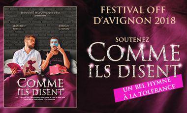 Visueel van project Comme ils disent en Avignon