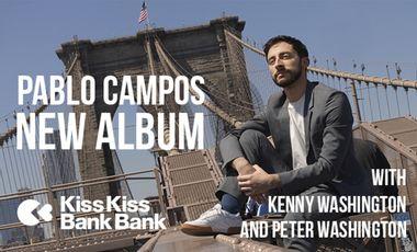 "Visueel van project PABLO CAMPOS - ""People Will Say"" With Kenny & Peter Washington"