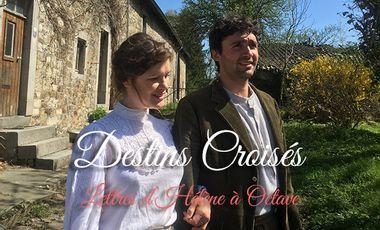Visuel du projet Destins croisés, lettres d'Hélène à Octave.