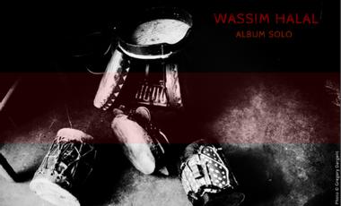 Project visual Wassim HALAL // Album solo - triptyque