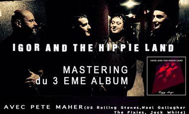 Visueel van project Le 3ème album de IGOR AND THE HIPPIE LAND