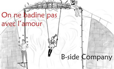 Visueel van project On ne Badine Pas Avec L'amour