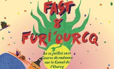 """Visuel du projet Course de radeaux """"Fast & Furi'Ourcq"""" à Pantin"""