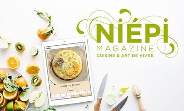 Project visual Le site Niépi : l'art de vivre sain et gourmand