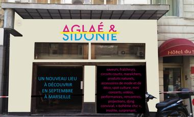 Visueel van project Aglaé & Sidonie, un lieu de vie artistique et une boutique au coeur de Marseille