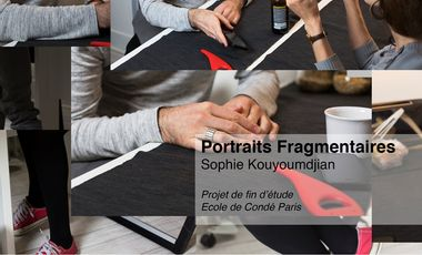 Visueel van project Portraits fragmentaires