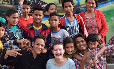 Project visual Sari ESSEC- Beds for kids in Nepal