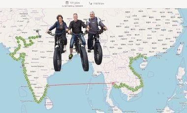 Visuel du projet Raid Aventure Santé: 12000 kms contre le diabète!!!