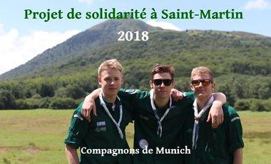 Visueel van project Les compagnons de Munich partent à Saint Martin pour un projet de solidarité!