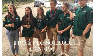 Visuel du projet Projet de solidarité des compagnons de Saint Georges au Népal
