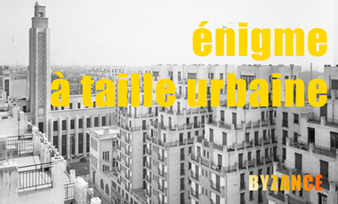 Project visual L'énigme à taille urbaine