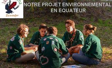 Project visual Volontariat environemental Equateur scout 2018