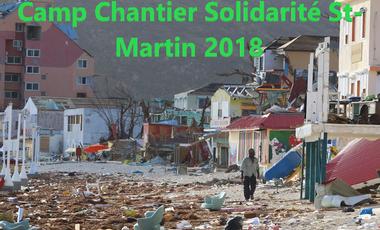 Visueel van project Matthieu Biscaye participe au Camp Chantier Solidarité Saint-Martin 2018