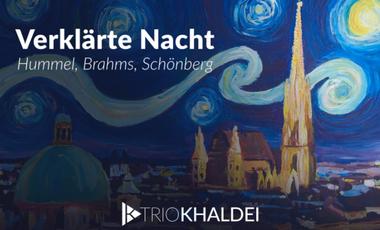 Visuel du projet CD Trio Khaldei : Verklärte Nacht