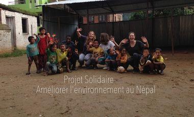 Project visual Les Vertueuses - Sensibilisation environnementale au Népal