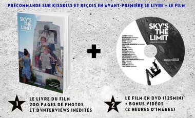 Project visual SKY'S THE LIMIT, LE LIVRE