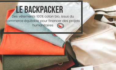 Visueel van project Le Backpacker : Des vêtements à but humanitaire