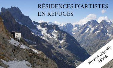 Visuel du projet Résidences artistiques en refuge de montagne
