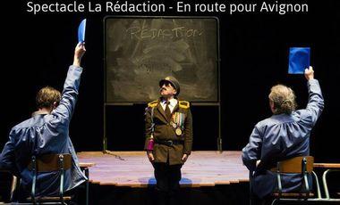 Project visual Spectacle La Rédaction - En route  pour Avignon