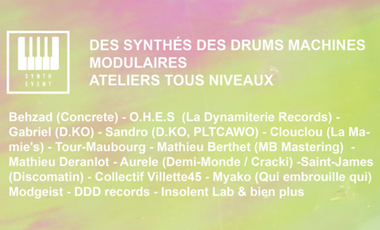 Visueel van project Le Synth Event - Salon du synthétiseur à Paris