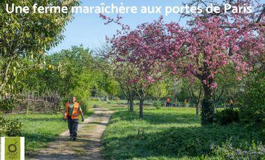 Visueel van project Une ferme maraîchère aux Portes de Paris