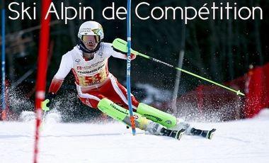 Project visual Ski de compétition - Saison FIS et haut niveau!
