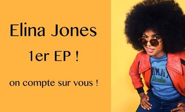 Visueel van project ELINA JONES - 1er EP !
