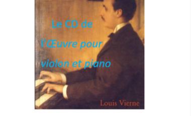 Visueel van project LOUIS VIERNE   Ballade