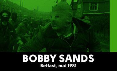Visuel du projet Bobby Sands / Belfast, mai 1981 / Yan Morvan