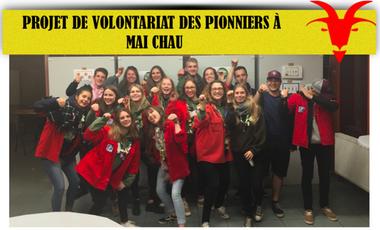 Project visual Projet de volontariat des pionniers au Vietnam