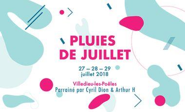 Project visual Les Pluies de Juillet
