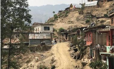Visueel van project Uni vert le Népal avec les Scouts et Guides de France !