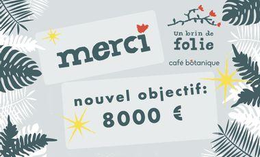 Project visual Un Brin De Folie, Café Botanique