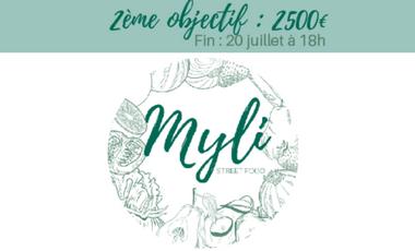 Project visual MYLI - Street food