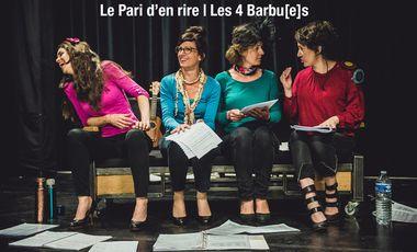 Visueel van project Le Pari d'en rire | Les 4 Barbu[e]s