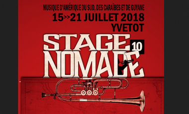 Visueel van project Stage et festival Nomade Yvetot 2018, 10ème édition