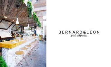 Project visual Bernard & Léon - Restaurant de bowls & pastries