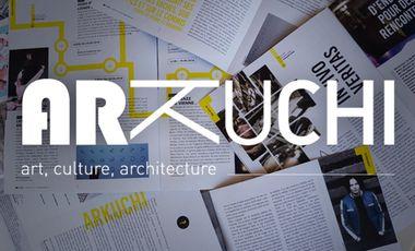 """Visuel du projet ArKuchi, le mensuel urbain qui aime les """"pas de côté"""""""