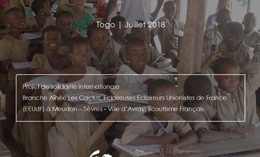 Project visual Améliorer les conditions d'enseignement d'une école primaire au Togo
