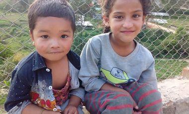 Visuel du projet Un poulailler pour les 24 enfants de l'orphelinat Namaste de Katmandou.