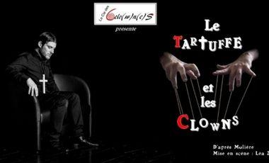 Project visual Le Tartuffe et les Clowns au Festival d'Avignon