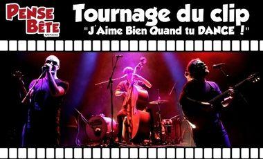 """Visueel van project Tournage du clip """"J'Aime Bien Quand tu DANCE !"""""""