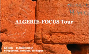 Project visual Algérie-Focus Tour