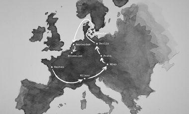 Project visual Voyage en Europe
