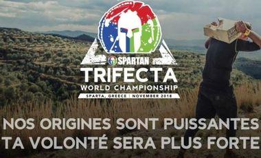 Visuel du projet Championnats du monde spartan race trifecta à Sparte