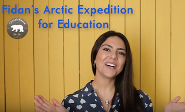 Project visual Fidan's Arctic Expedition for Education
