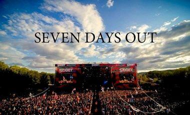 """Visuel du projet """"Seven Days Out"""""""