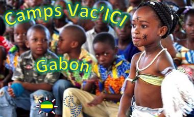"""Project visual Camps de Vacances Interculturel """" Vac'ICI """" au Gabon"""